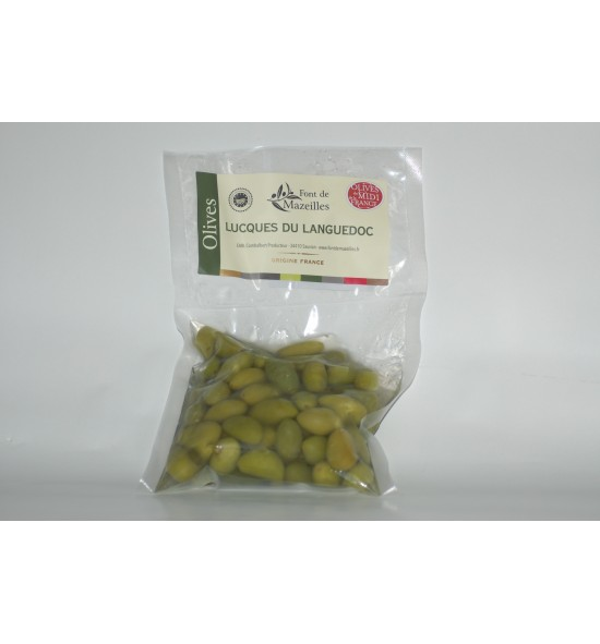 Olives Lucques fraîches 350 gr